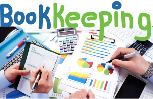 Bookkeeping calculators & paper